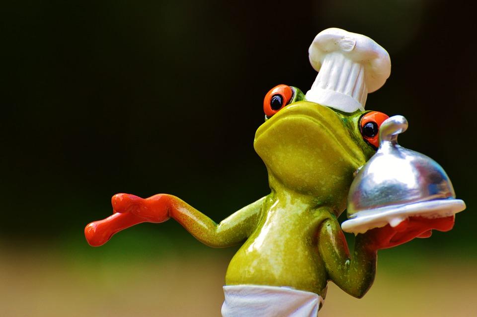 Grenouille cuisinier - Maigrir avec l'EFT